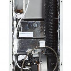 20-25 Kitchen oil boiler - internal view