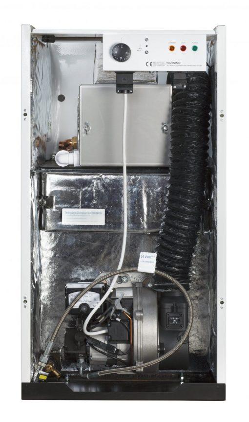 26-30 Kitchen oil boiler - internal view