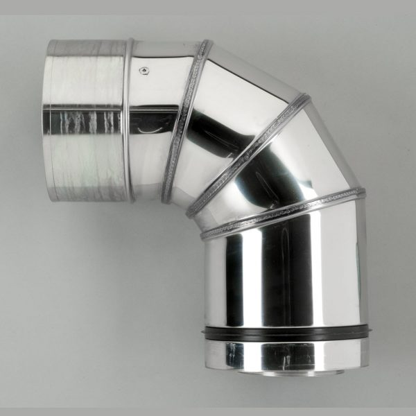 Flue option FL80-90ELB - 90 degree Elbow