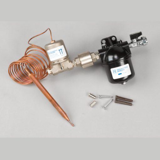 Oil filter kit with fire valve & NRV for Tuscan boilers