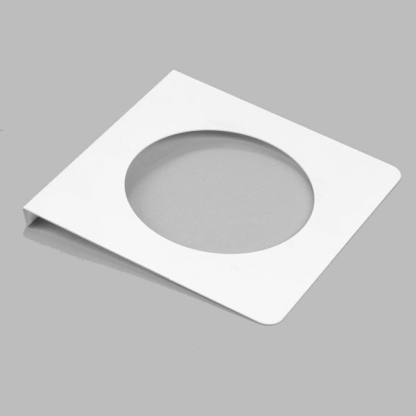 White casing trim plate PW20010