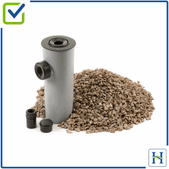 Condensate Soakaway RP024 with Lime Chippings for oil boiler