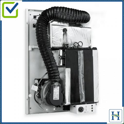 Internal Wall mounted boiler internal view