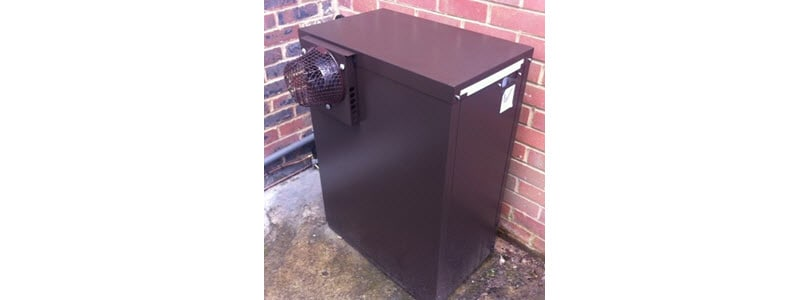 Tuscan external oil fired boiler at Ascot Golf Club