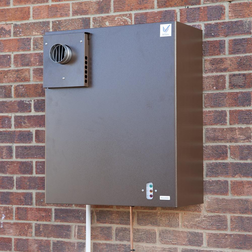 12 19 External Wall Mounted Boiler Condensing
