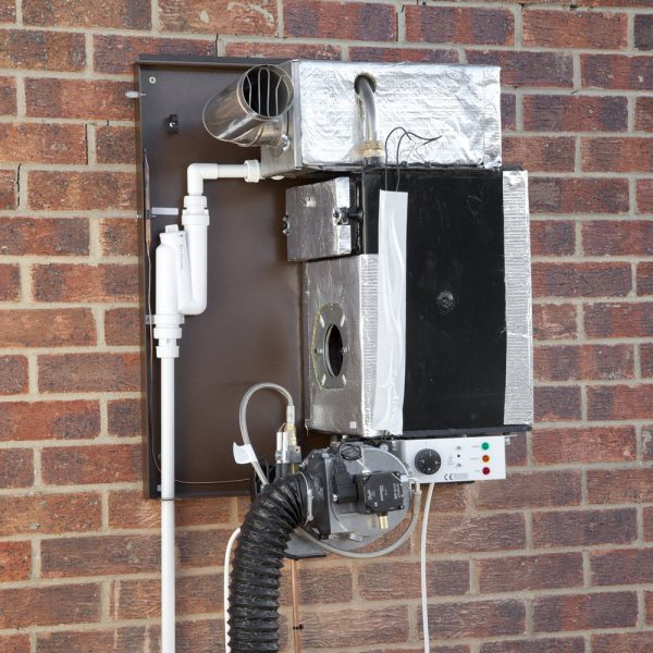Tuscan Wall-mounted External Boiler Model for burner service, Hounsfield Boilers