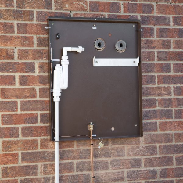 Tuscan Wall-mounted External Boiler Model wall plate, Hounsfield Boilers