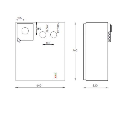 12-19 external wall mounted oil boiler diagram - Hounsfield Boilers