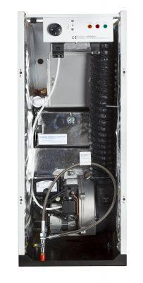 12-19 Kitchen oil boiler - internal view