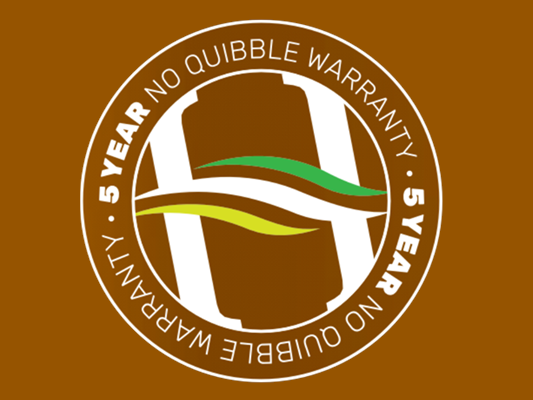 Five Year No Quibble Boiler Warranty