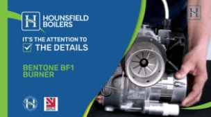video - Bentone BF1 burner in Tuscan boilers