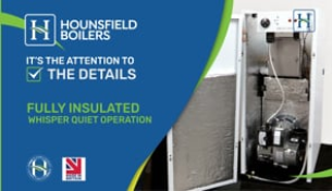 Video - Fully insulated & quiet boiler