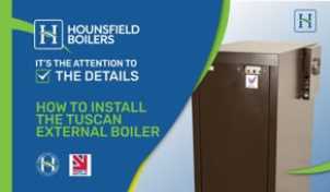 video - how to install external boiler