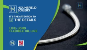 video - lifelong flexible oil line on Hounsfields