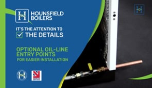 video - Optional oil line entry points for installation
