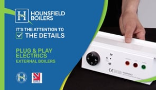 video - Plug & play electrics on External boiler