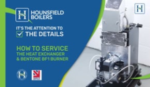video - How to Service heat exchanger & Bentone burner