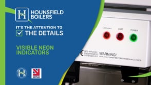 video - Visible neon indicators on boilers