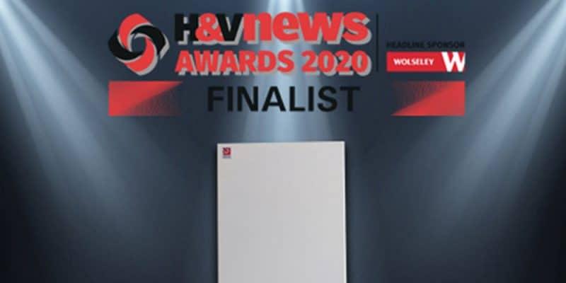 HVN awards 2020 Finalist for Best British Boiler Hounsfield Boilers