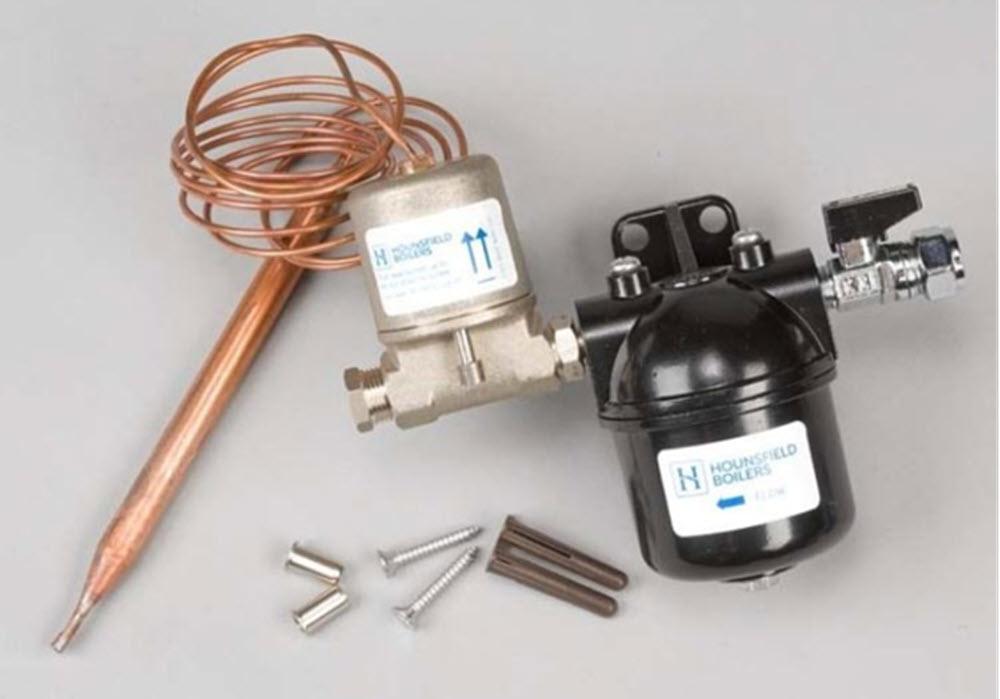 oil filter kit supplied with Hounsfield Boilers