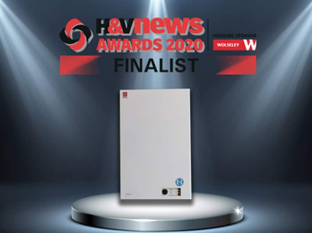 H & V Awards 2020 Finalist for Boilers and Heaters