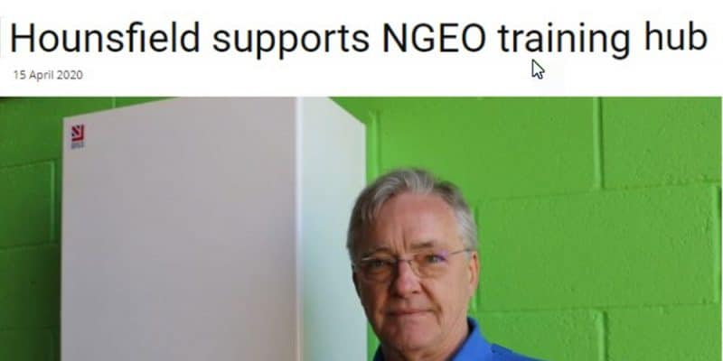 Hounsfield boilers supports NGEO training - HPM magazine