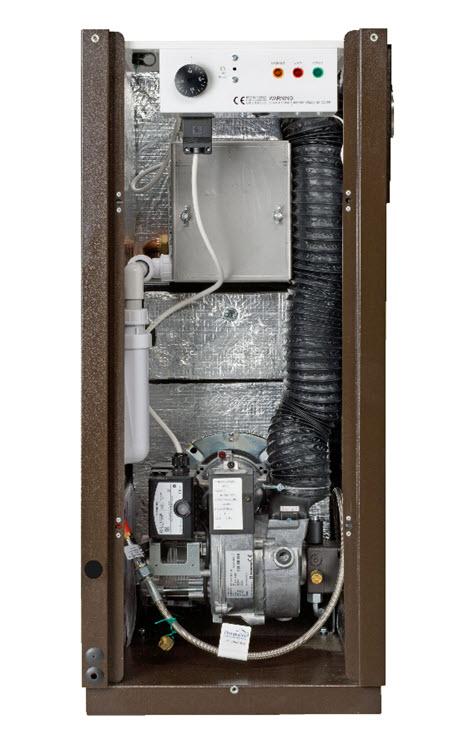 external oil boiler by Hounsfield Boilers