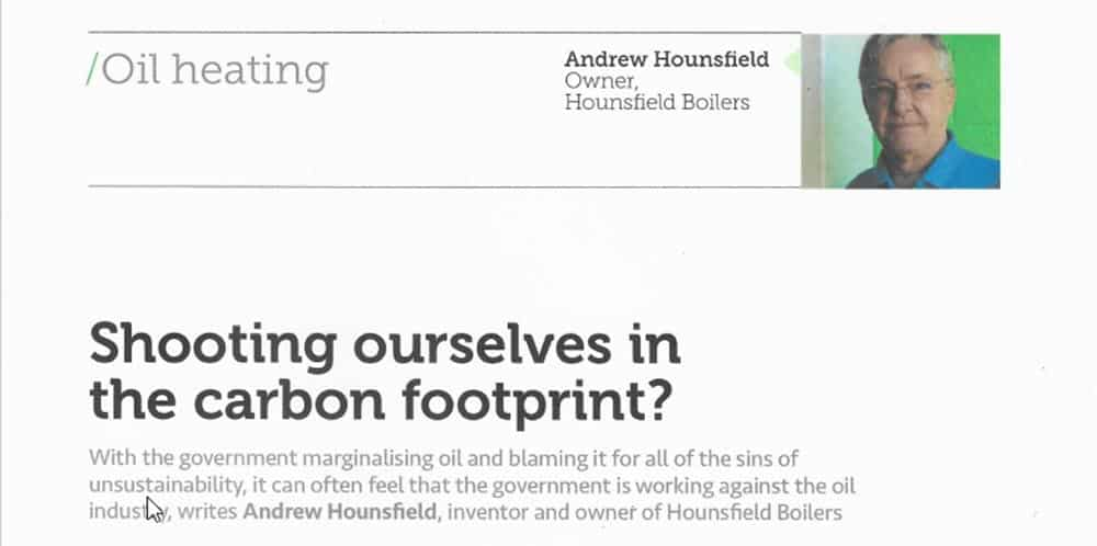 News: Are we shooting ourselves in the carbon footprint