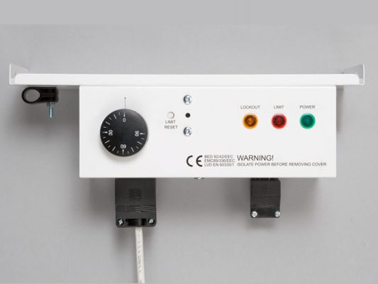 control panel for Hounsfield Boilers
