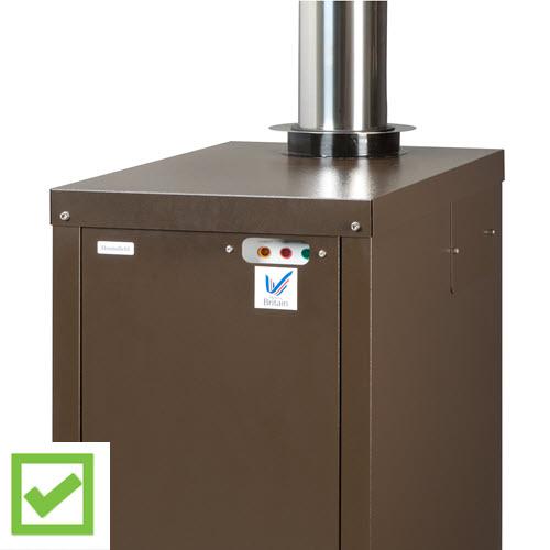 flue options - choose a Hounsfield Boiler