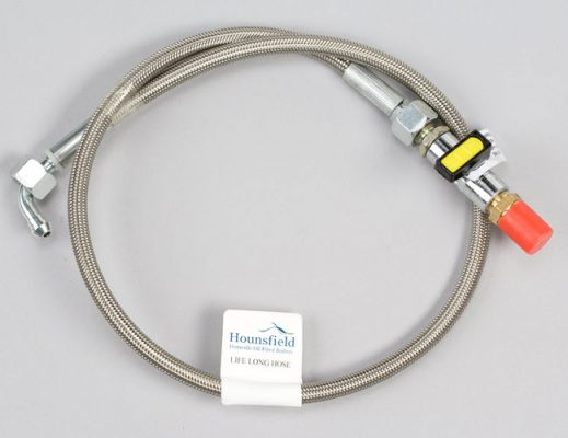 life long flexible oil line for Hounsfield Boilers