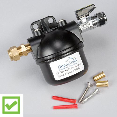 oil filter paper element - choose a Hounsfield Boiler