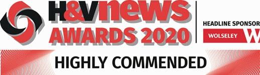 H&V awards best boilers highly commended