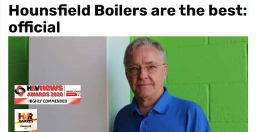 Hounsfield Boilers are the best