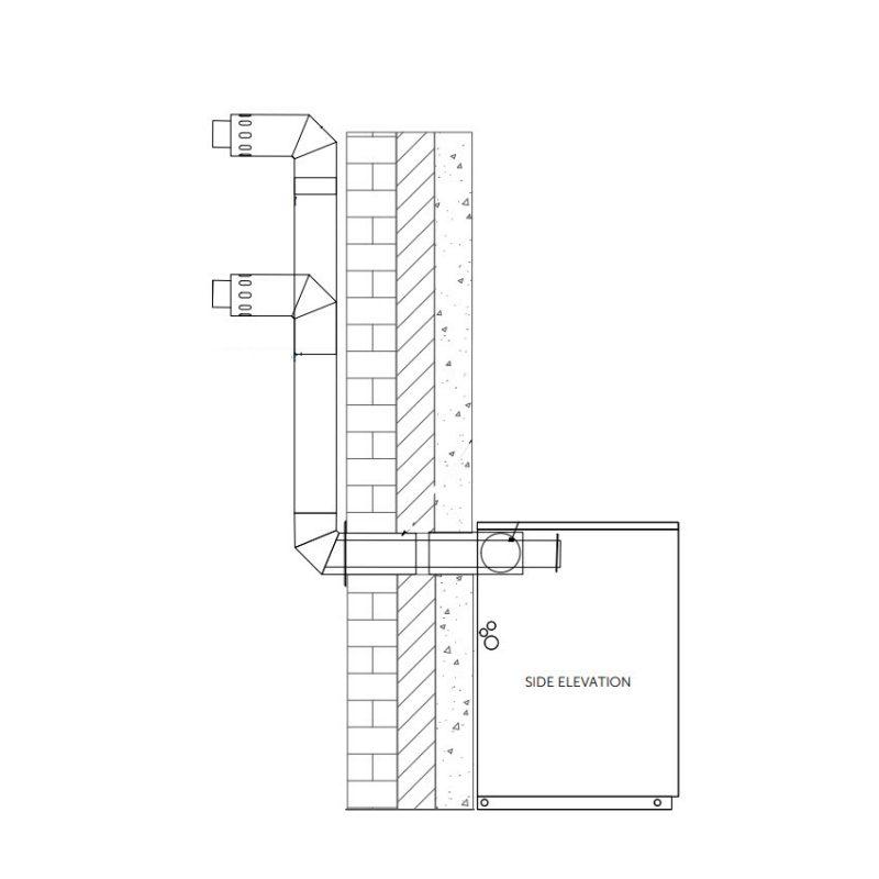 Balanced Flue Plume Kit