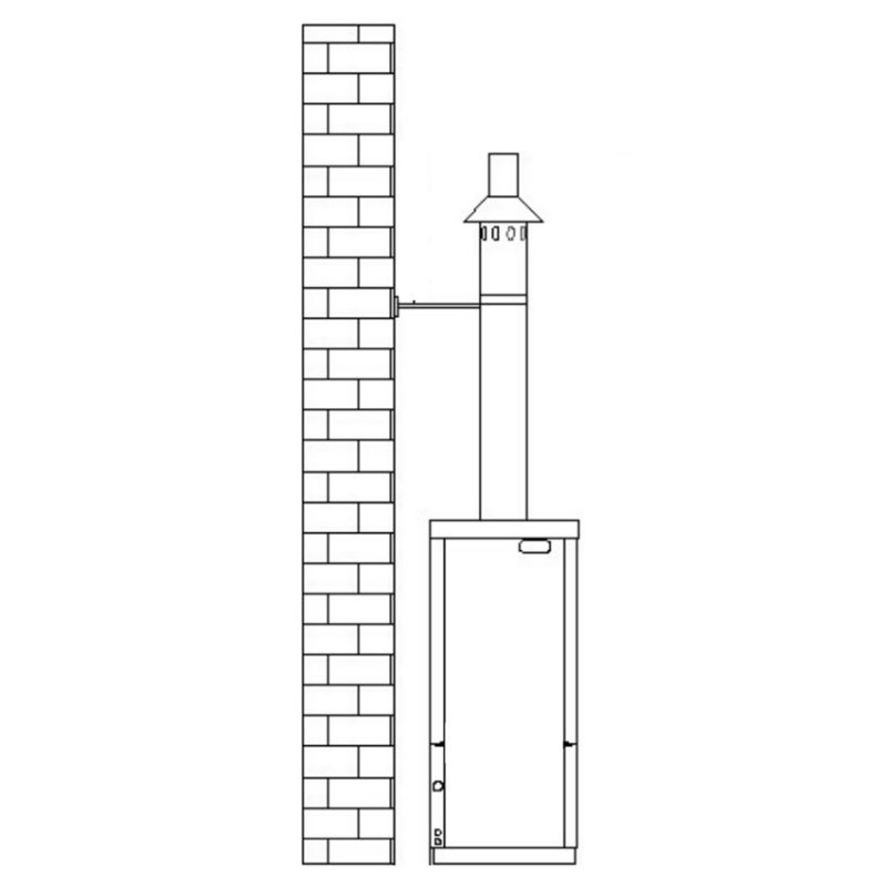 External Vertical Flue Kit