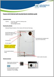 Tuscan Wall mounted Internal Model Installation Guide