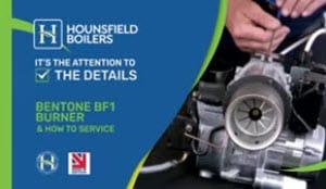 Bentone BF1 Burner & How to Service