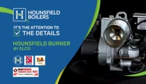 Hounsfield Burner by Elco