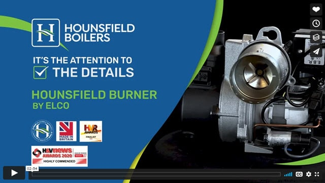 The new Hounsfield elco Burner - video