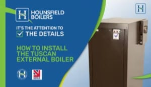 How to Install the Tuscan External Boiler