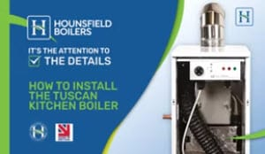 How to Install the Tuscan Kitchen Boiler