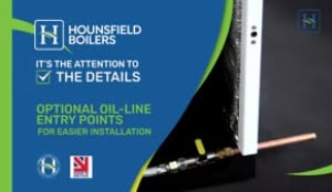 Optional Oil Line Entry Points Life Long Flexible Oil Line