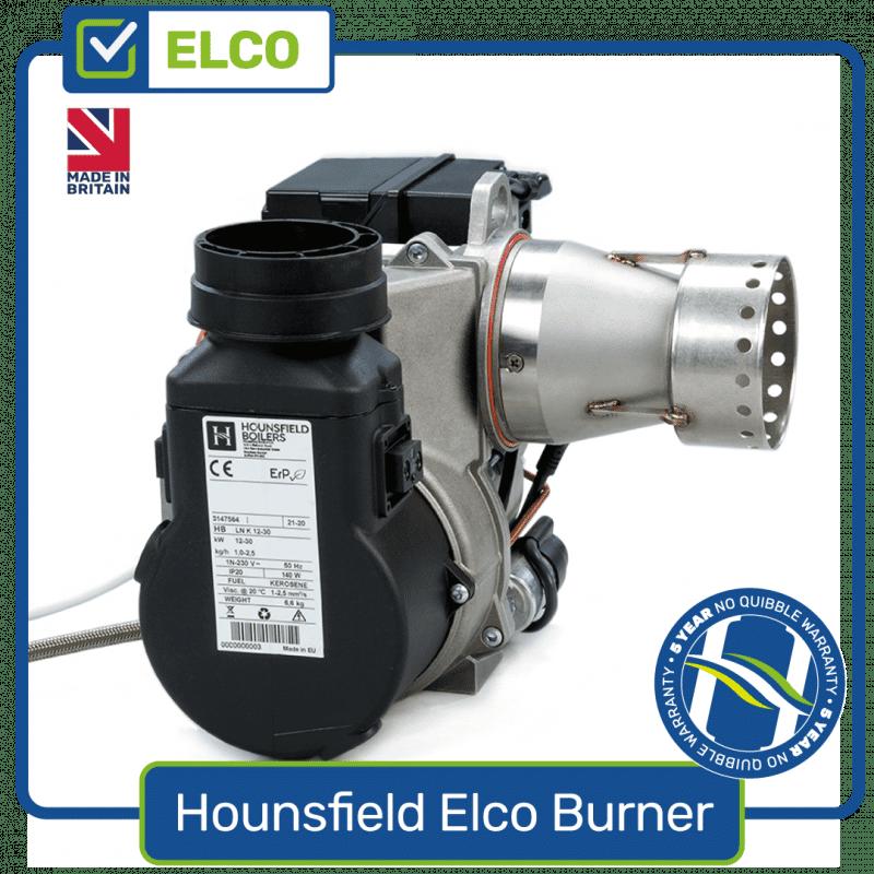 Elco burner for Hounsfield Boilers