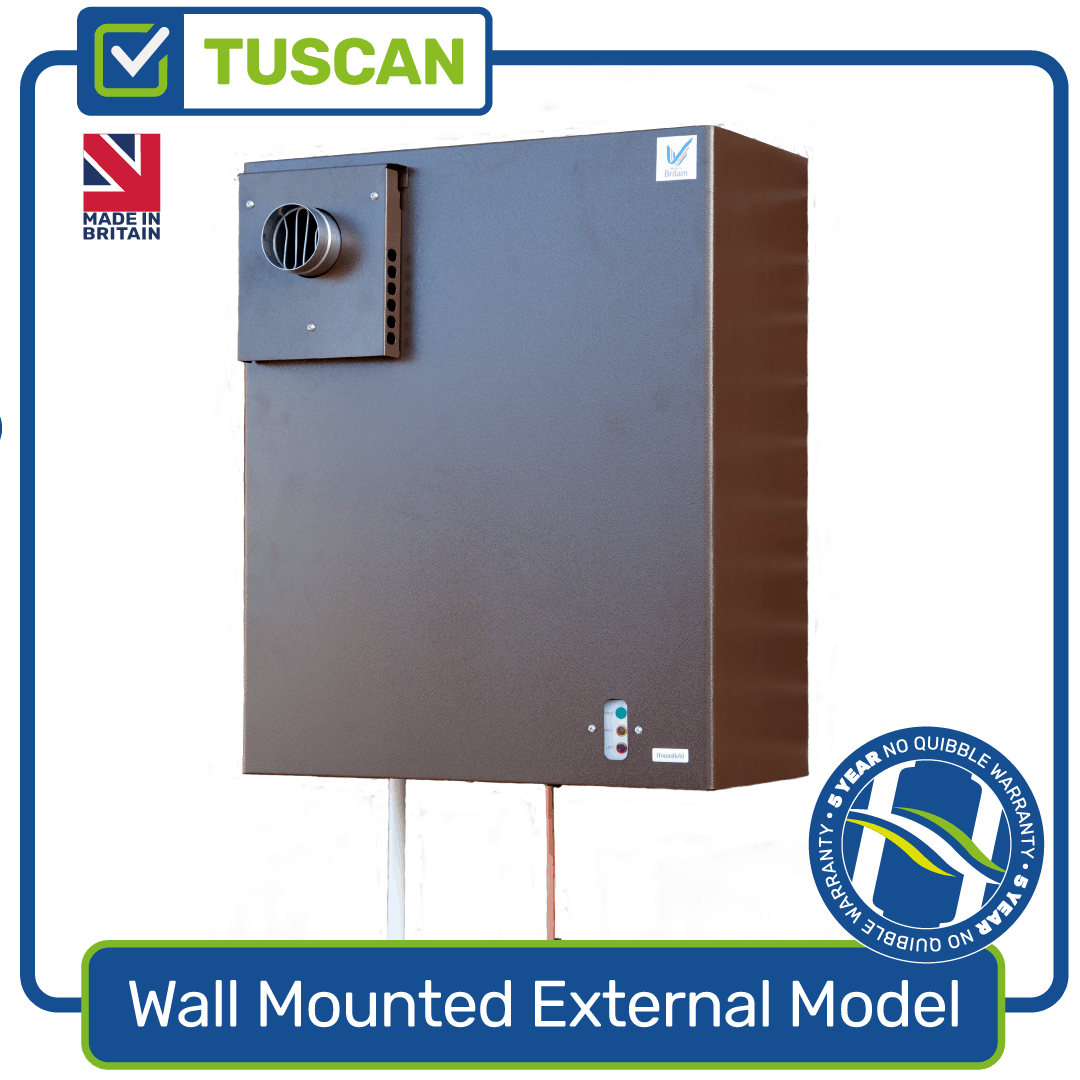 Tuscan Wall-Mounted External Oil Boiler