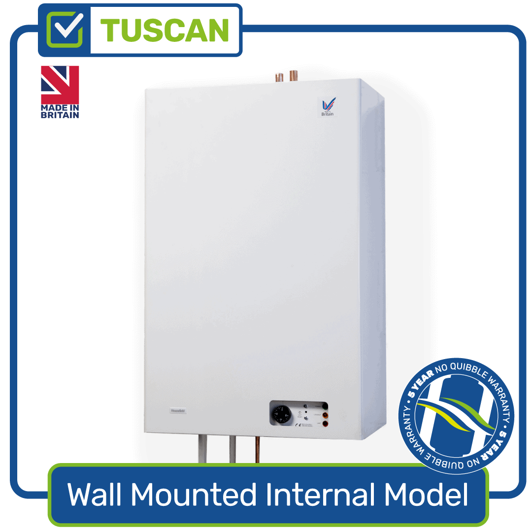 Products - Tuscan Wall-Mounted Internal Oil Boiler