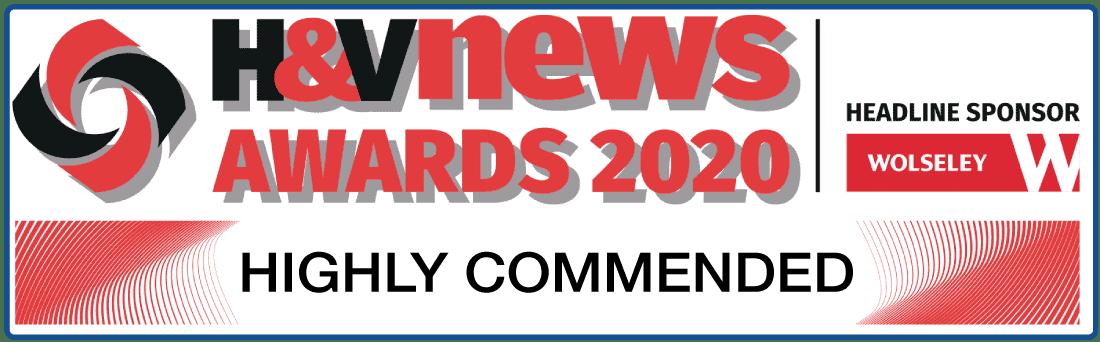 H&V News Logo - Award Winning Boilers