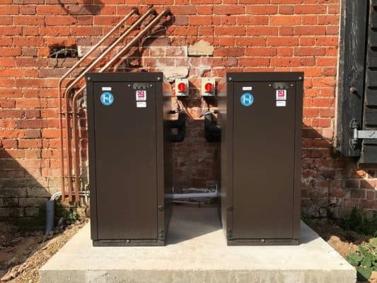 new boilers provide reliability for Orwell View Barns