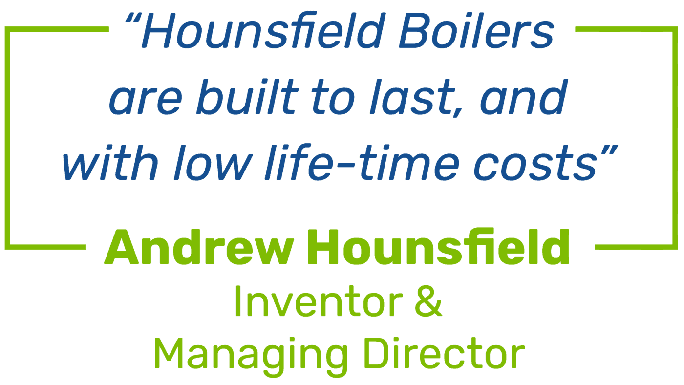Andrew Hounsfield quote