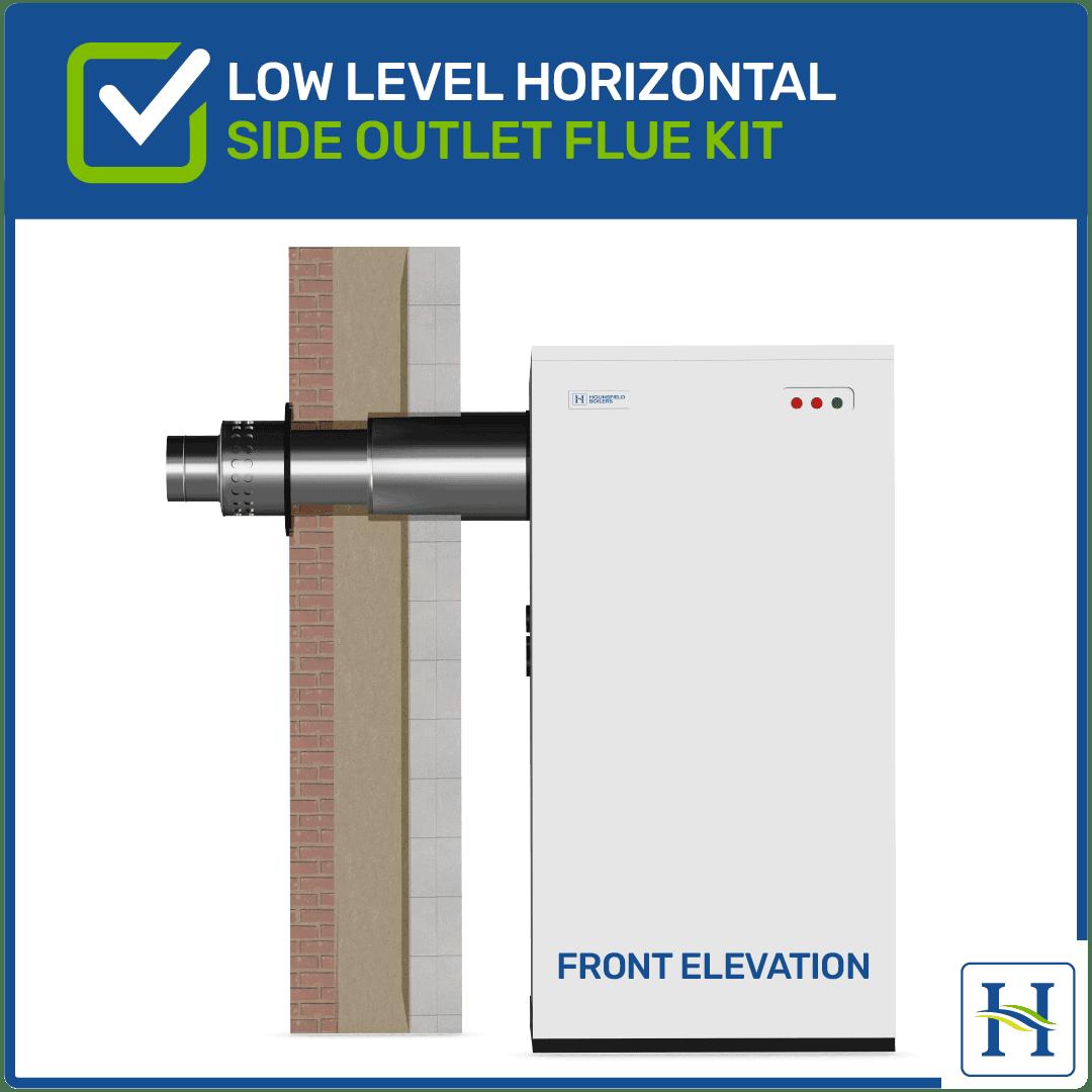 Low Level Horizontal Flue Side Outlet Kit